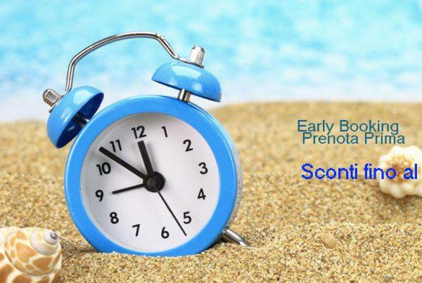 early booking prenota prima