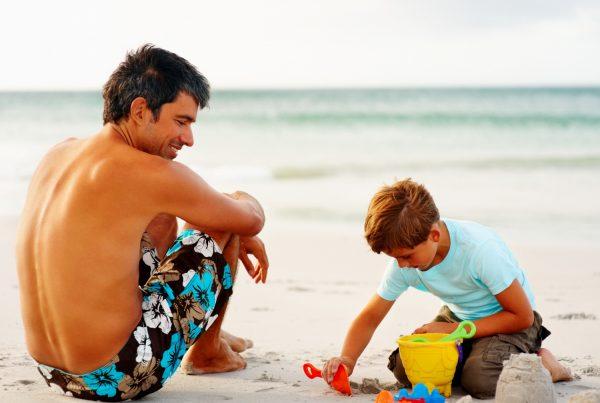 Genitori single con bambini scontati al 50%